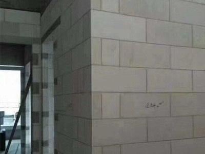 重庆加气砖隔断墙施工